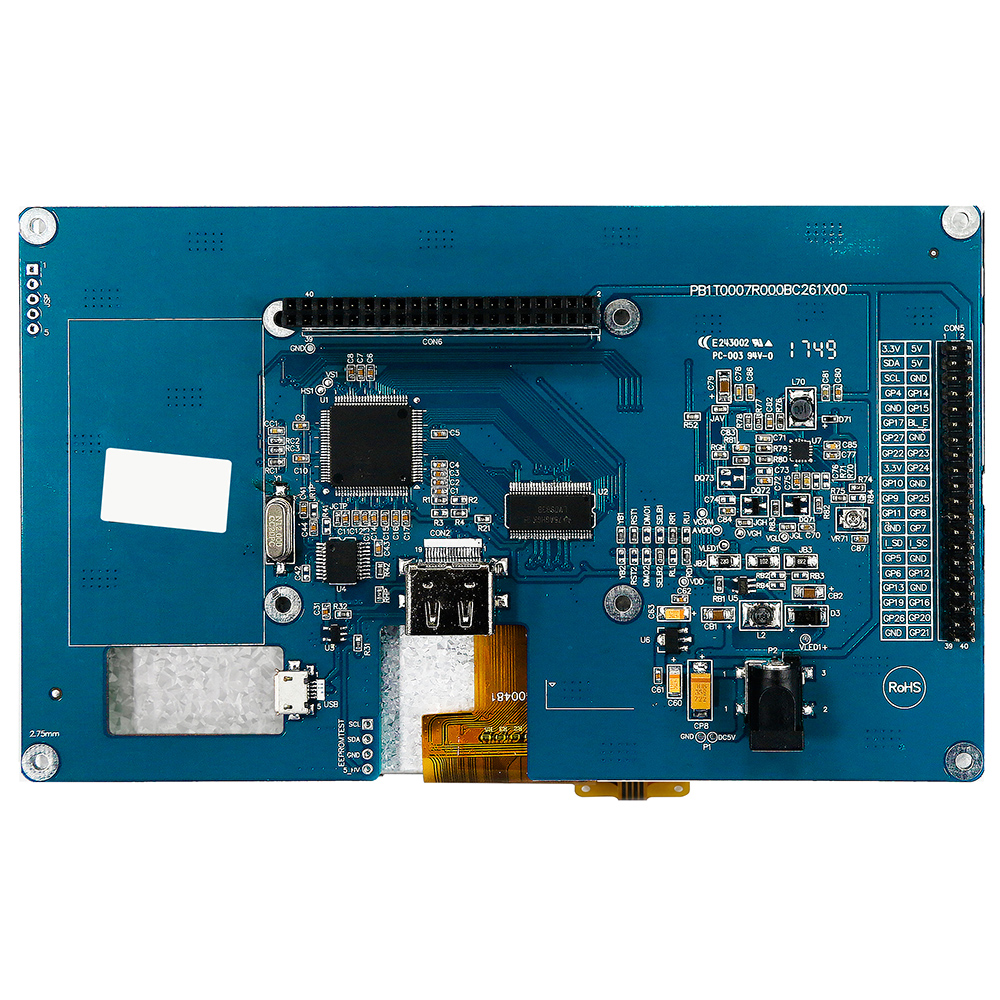 RTP for HDMI signal TFT LCD Дисплей 7 (For Raspberry Use) - WF70A7TIFHLHTV