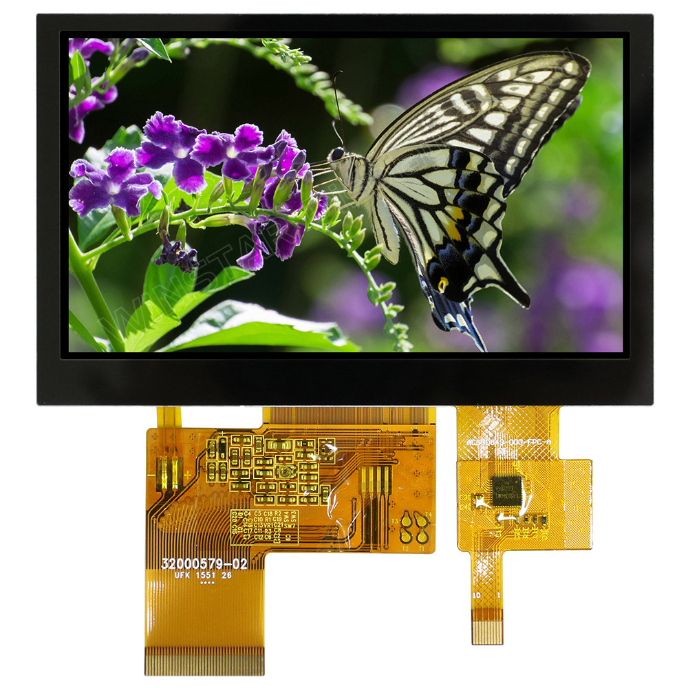 4.3 Sunlight Readable CTP TFT LCD Display