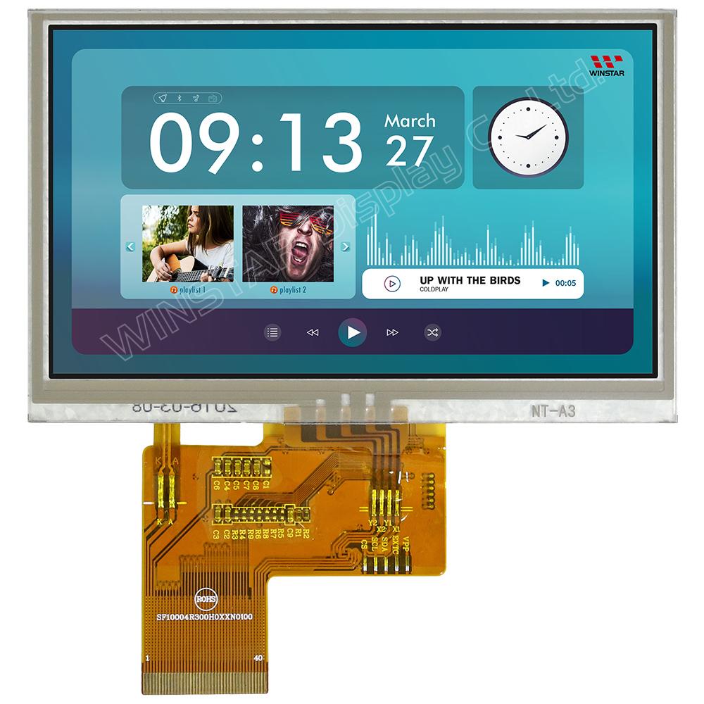 """WINSTAR WF 43 gtiaednnz # 4.3/"""" Display LCD TFT"""