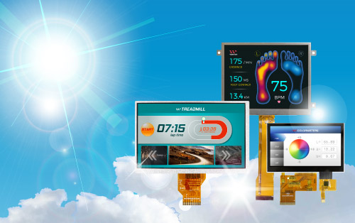 High Brightness TFT Display, TFT Bildschirm, Bildschirm Panel, Panel Bildschirm