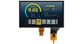 10.1インチ1024x600高輝度 LVDS IPS PCAP TFT 液晶 - WF101JSYAHLNB0
