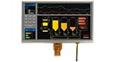 10.1インチ1024x600 LVDS IPS 抵抗式タッチパネル TFT 液晶 - WF101JTYAHLNT0