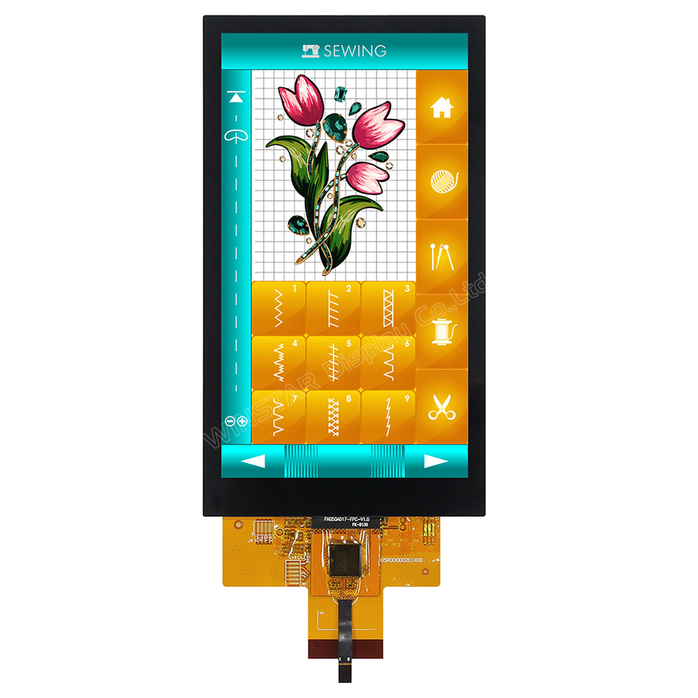 Projected Capacitive Touch Panel IPS TFT 5 with Optical Bonding (MIPI DSI)