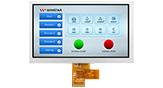 7インチ1024x600高輝度LVDS IPS TFT 液晶 - WF70A8SYAHLNN0