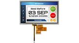 7インチ1024x600高輝度LVDS IPS 抵抗式タッチパネル TFT 液晶 - WF70A8SYAHLNT0