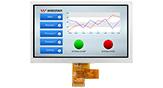 7インチ1024x600 LVDS IPS TFT 液晶 - WF70A8TYAHLNN0