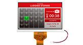 7インチ800x480高輝度+広温 IPS TFT 液晶 - WF70A9SWAGDNN0