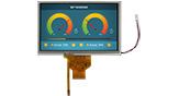 7インチ800x480高輝度+広温 IPS TFT 液晶 - WF70A9SWAGDNT0