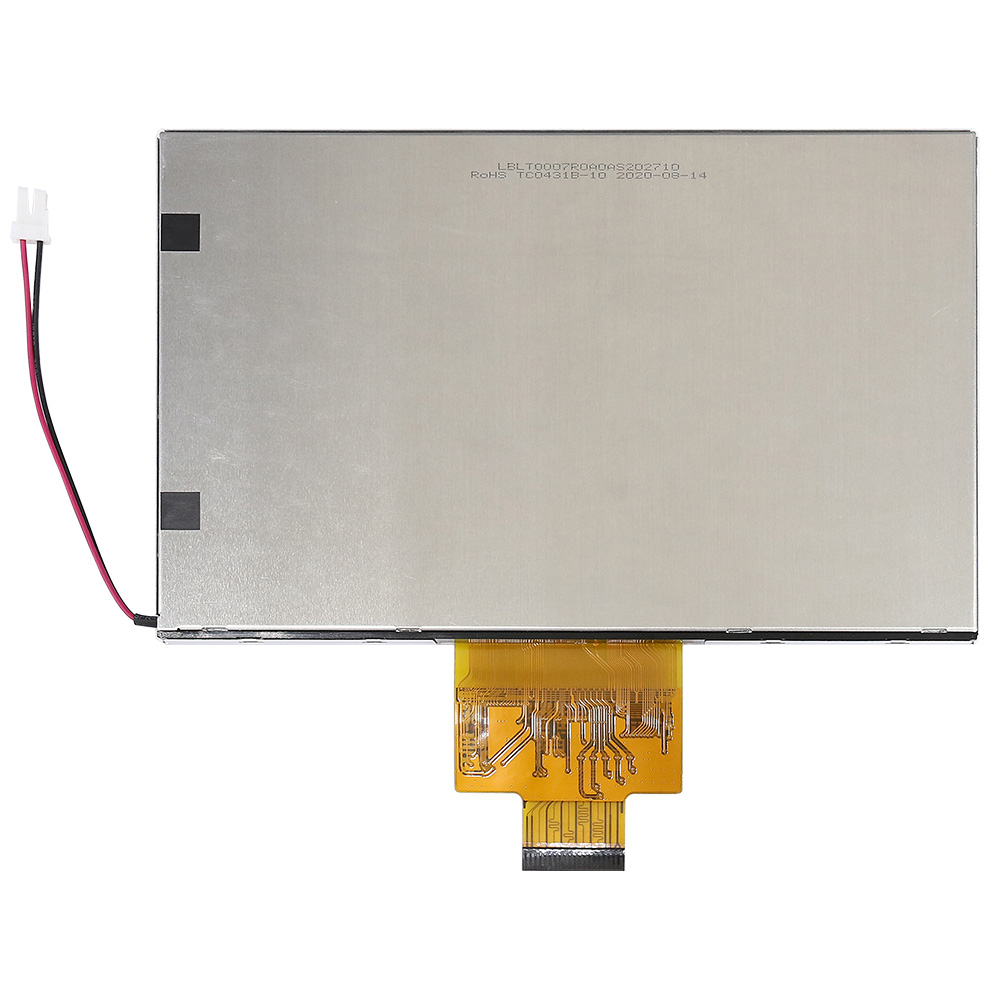 7 inch 800x480 High Brightness, Wide Temperature IPS TFT Display Support LVDS - WF70A9SWAGLNN0