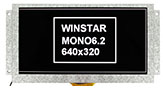 6.2 TFT LCD Monochrome Display