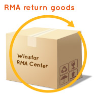 Winstar Display - Shipping Address for RMA Return Goods to Taiwan