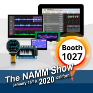 Exhibition: 2020 NAMM Show (JANUARY 16–19, 2020)