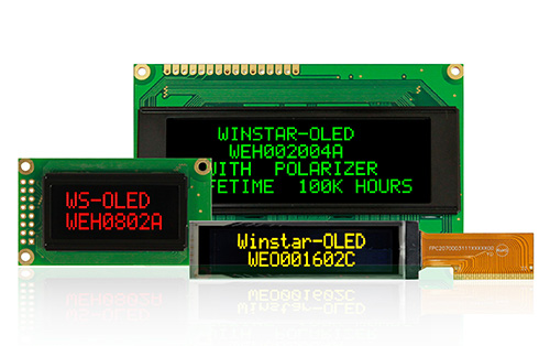 Moduli Display OLED a Caratteri,  Display OLED Alfanumerici