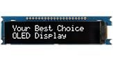 20文字x2行 COG OLED 有機モジュール +PCB - WEA002002A