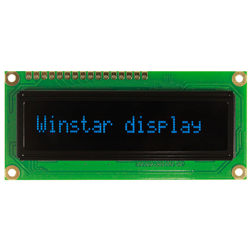 16x1 OLED Character Display