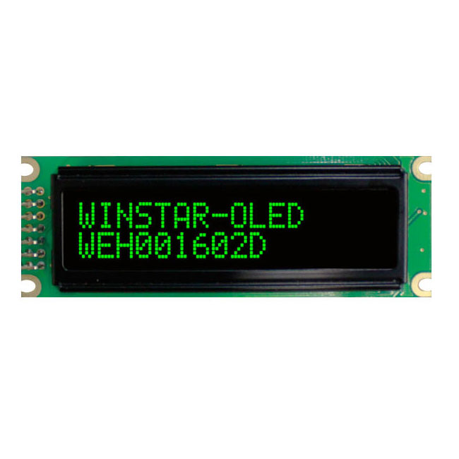 Display Alfanumerici OLED 16 x 2 - WEH001602D