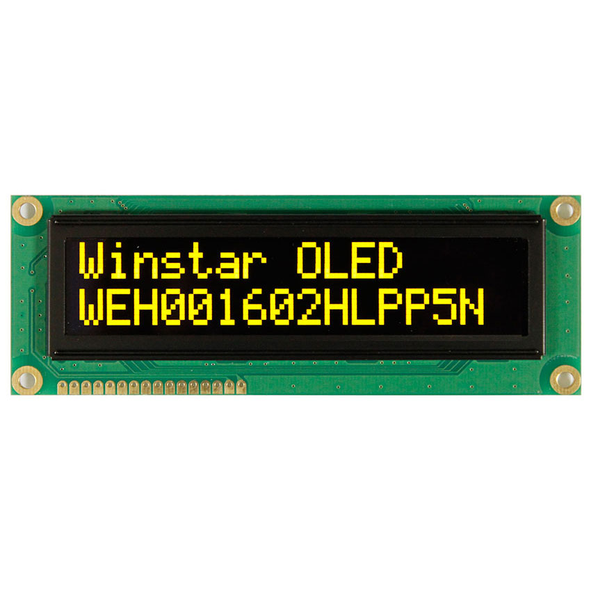 OLED 16x2 Character Display