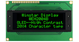 OLED Display Alfanumerici 20 x 4 - WEH002004B