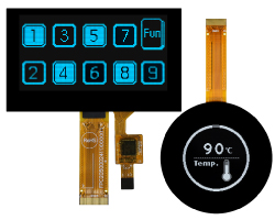 OLED Touch Display, OLED Touch Screen Module, Touch Screen OLED Display