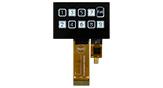 128x64 静電容量式タッチパネル OLEDモジュール - WEO012864A-CTP