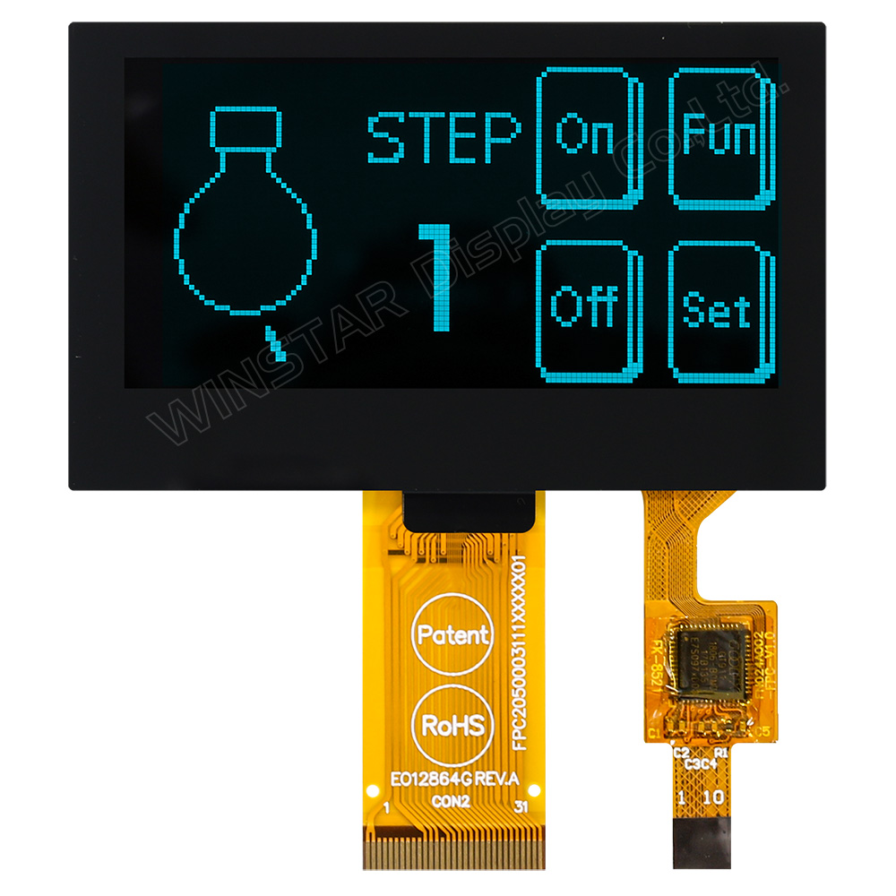 "Modulos OLED Con Tactil Capacitivo 2.42"", 128x64, SSD1309 - WEO012864G-CTP"