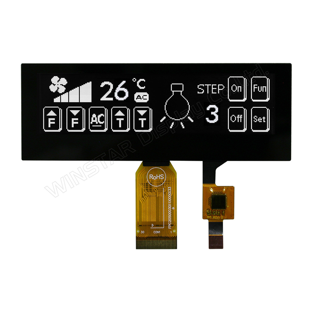 "3.55"" OLED Graphic with Capacitive Touch Screen"