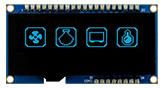 2.23インチ128x32静電容量タッチパネル有機ELモジュール