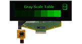 3.12 インチ 256x64 タッチパネル有機ELモジュール - WEX025664B-CTP