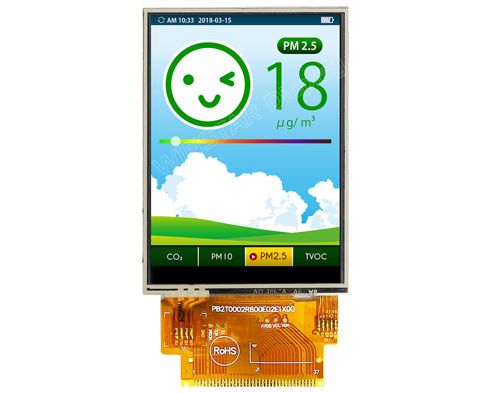 2.8 inch TFT LCD, 2.8 TFT LCD Module, 2.8 TFT Display