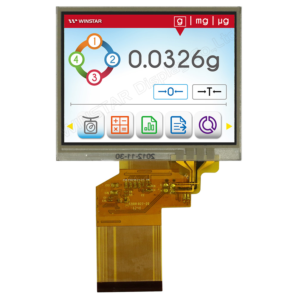 3 5 Zoll TFT LCD Display mit Resistiven Touch Screen