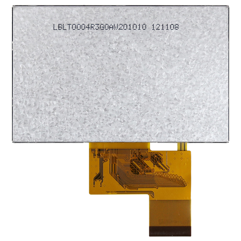 4.3 Resistive Touch Panel Color LCD Module