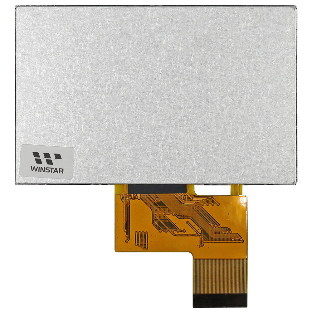"4.3"" 480x272 Resolution TFT LCD Module - WF43VTIAEDNN0"