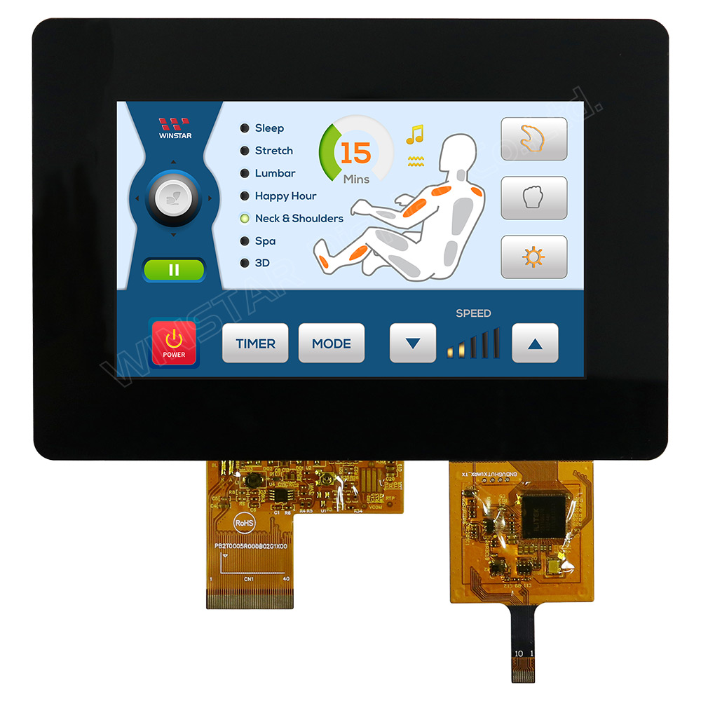 5 inch USB interface PCAP TFT LCD Module