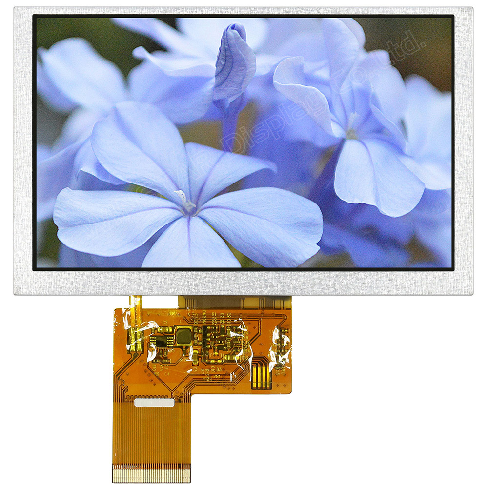 5.0 Color TFT LCD Modules