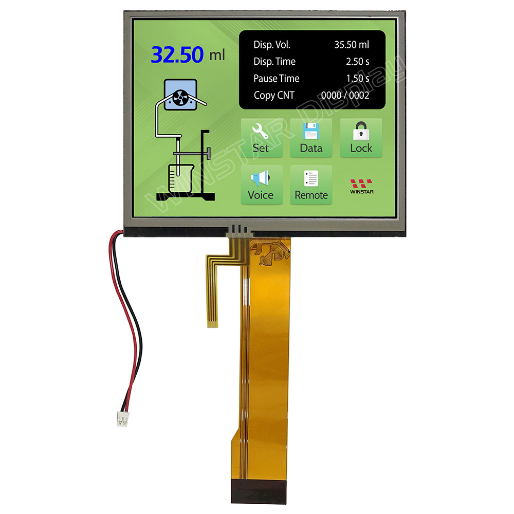 5,7 Zoll Resistiver Touch TFT-LCD Modul