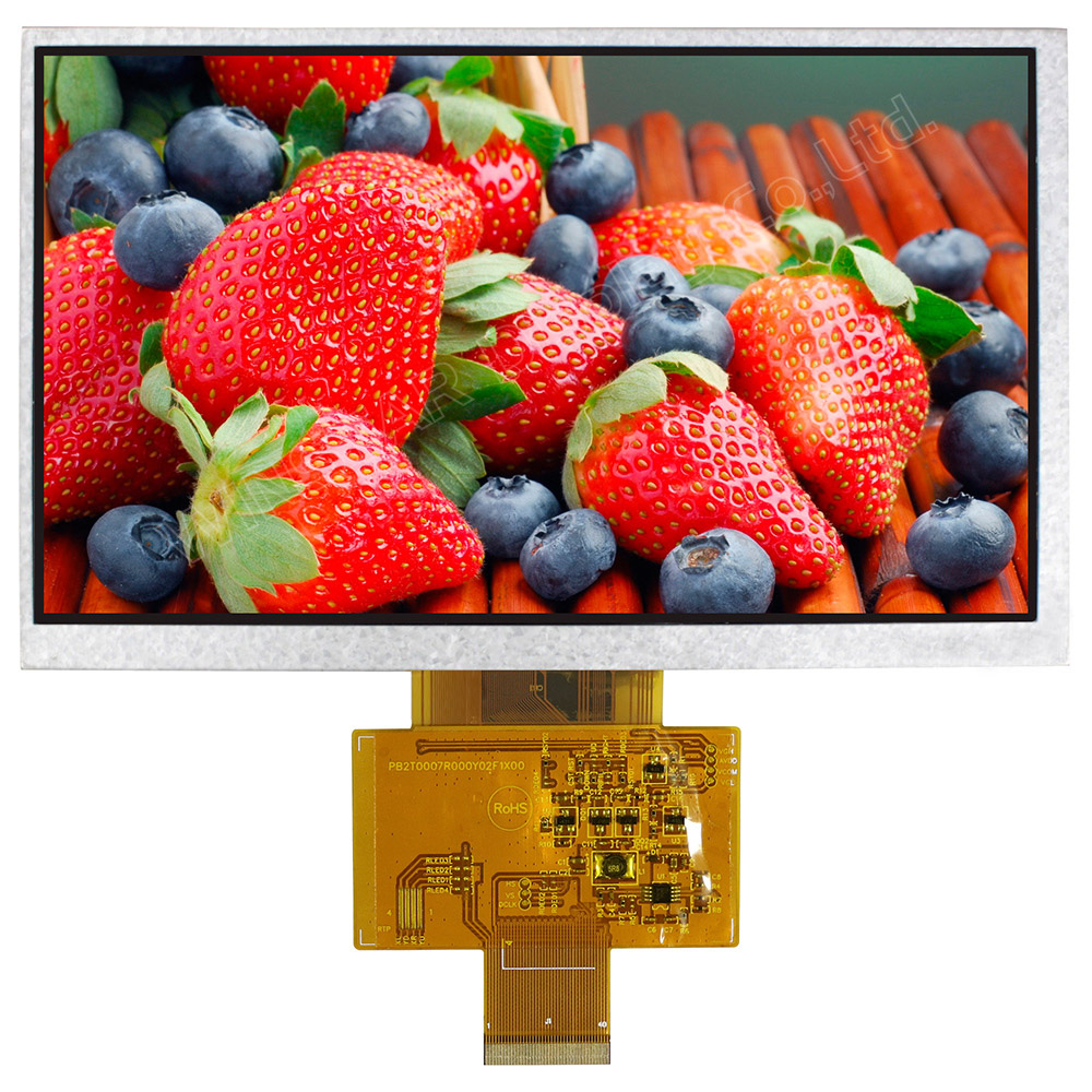 7 TFT LCD Modules, 7 Color TFT LCD Modules