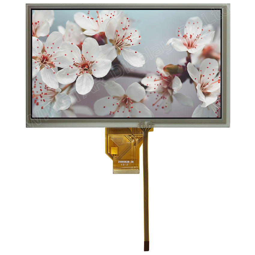 8 inch RTP Touch Screen Display TFT Modules