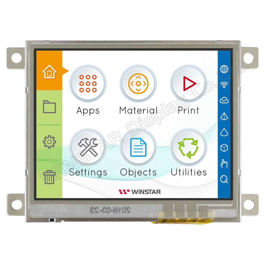 Resistive Touch Screen TFT 3.5, LCD Controller Board