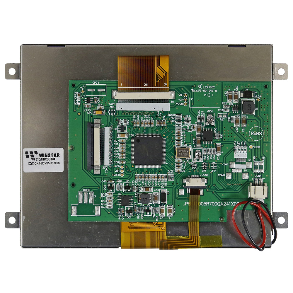 5.7 TFT Panel (RTP) with LCD Controller Board