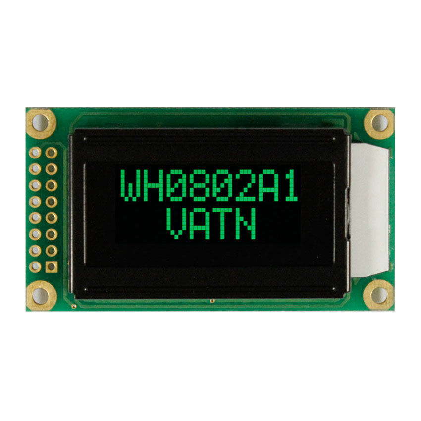 Green LCD Display 8x2 - Winstar Display