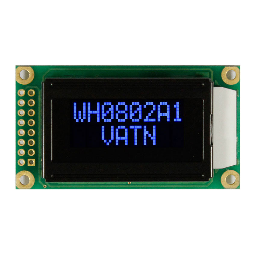 8x2 VTN LCD with Highlight Blue LED Backlight