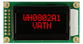 VATN 8x2 Highlight RED LCD Display