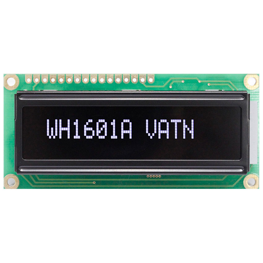 VATN Display 16x1 with Highlight White LED Backlight