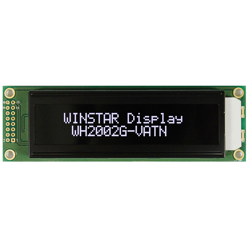20x2 VATN LCD with White LED Backlight