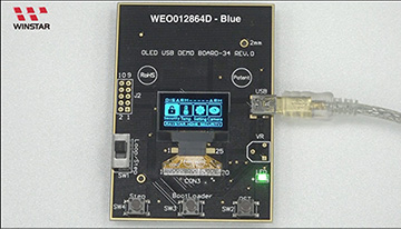 OLED WEO012864D Video