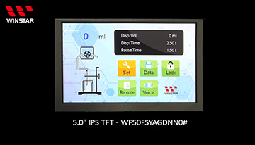 5 高亮 IPS TFT - WF50FSYAGDNN0 Video