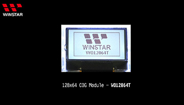 COG LCD - WO12864T video