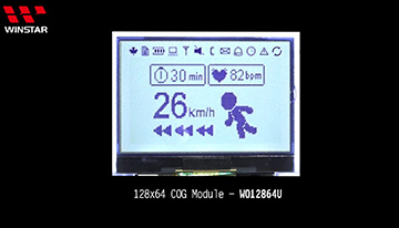 COG LCD - WO12864U Video