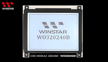COG LCD - WO320240D Video