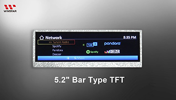 Bar TFT LCD - WF52ATLASDNN0